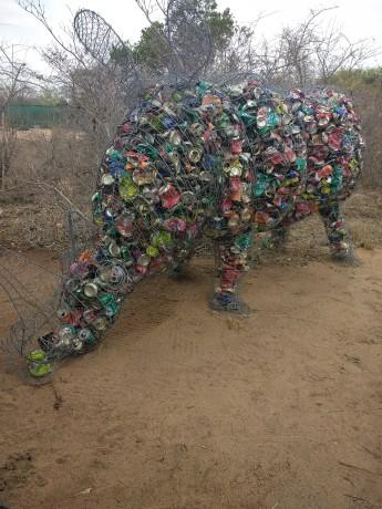 Tin can rhino