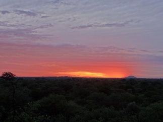 Sunset from the Koppie