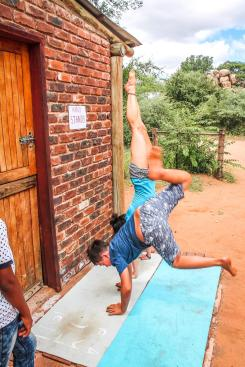 Hand stand lessons