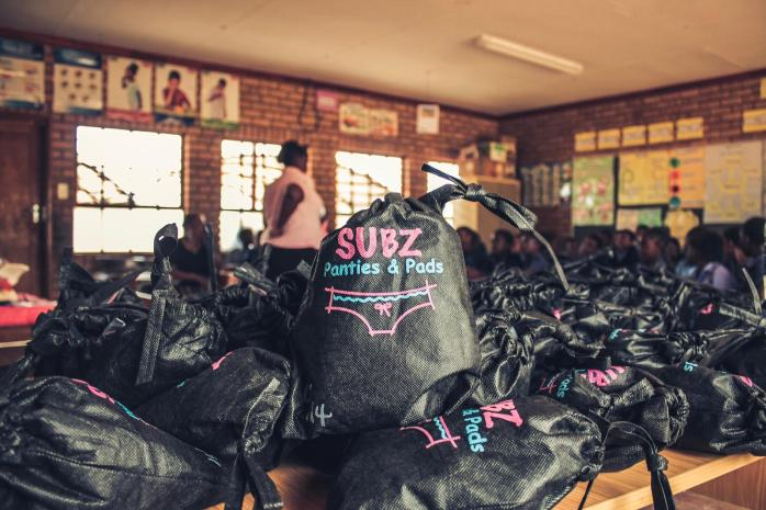 Subz provide reusable menstrual products for girls
