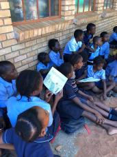 Reading Hyena Time at Alldays Primary